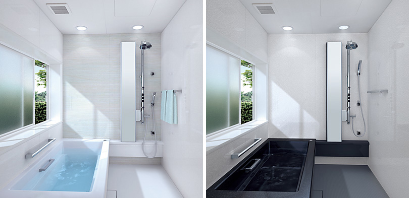 Small bathroom layouts by toto digsdigs for Best small bathroom layout