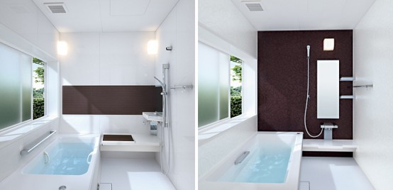 Toto Sprino Small Brown Bathroom