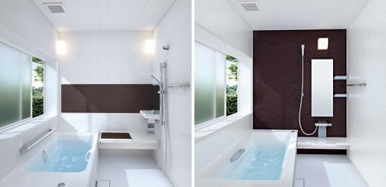 Toto Sprino Small Brown Bathroom