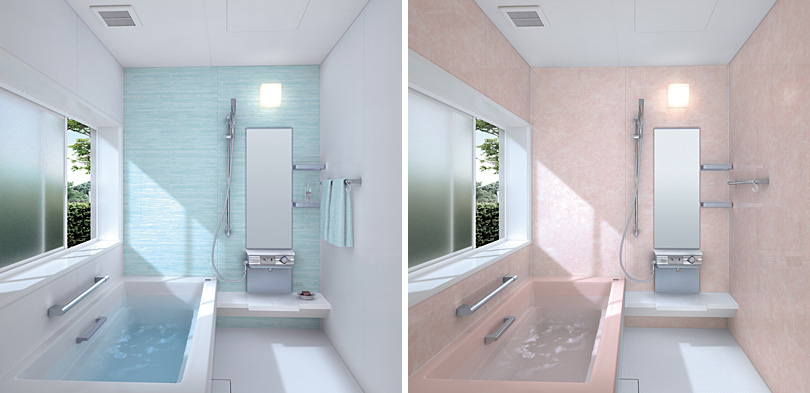Small bathroom layouts by toto digsdigs for Small restroom design ideas