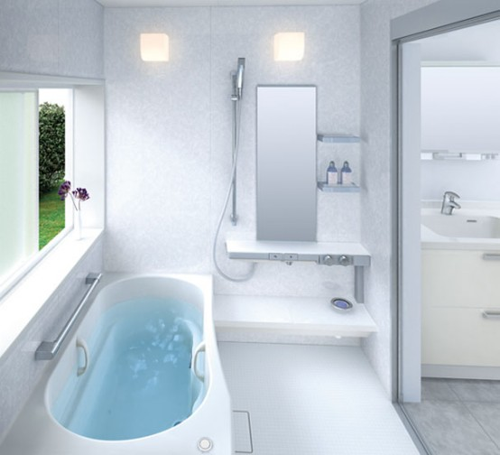 Small Bathroom Layouts by TOTO