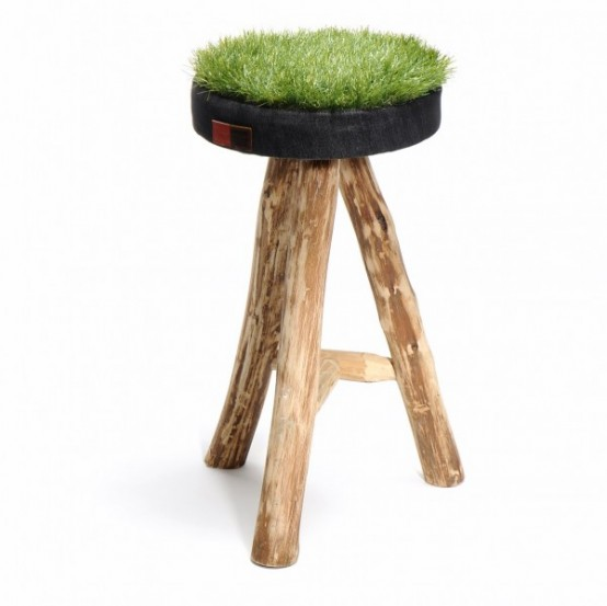 Touch Of Spring: Grass Stool Collection