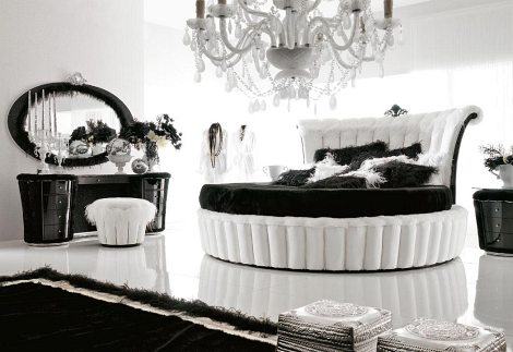 Black  White Wedding Decorations on Black And White Bedrooms Black And White Decor Black And White