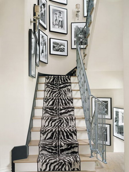 10 Traditional Black And White Hallways Digsdigs