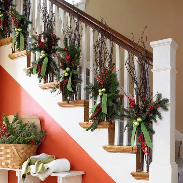 Home Christmas Decorations 40 traditional christmas decorations - digsdigs