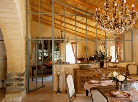 Traditional French Country House