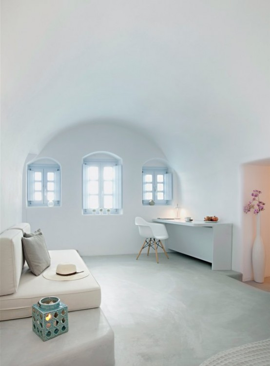 Traditional Villa In Greece With Ultra Minimalist Interiors