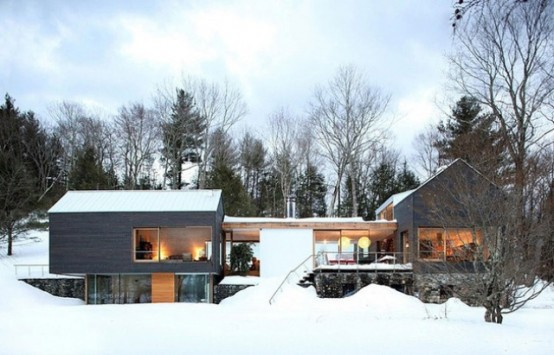 Train Depot To Cozy Modern Cottage Conversion