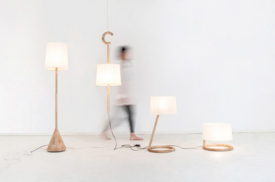 Trans-Lamp Collection For Gentle Light At All The Levels