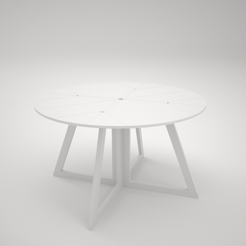Magnificent Dining Table Transformable Into Occasional One