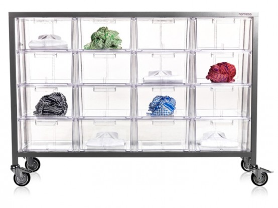 Transparent Acryl Drawer