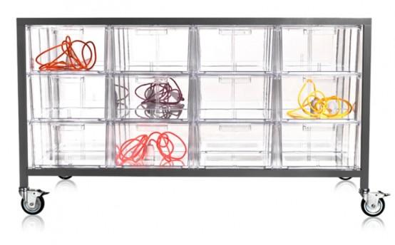 Transparent Acryl Drawer