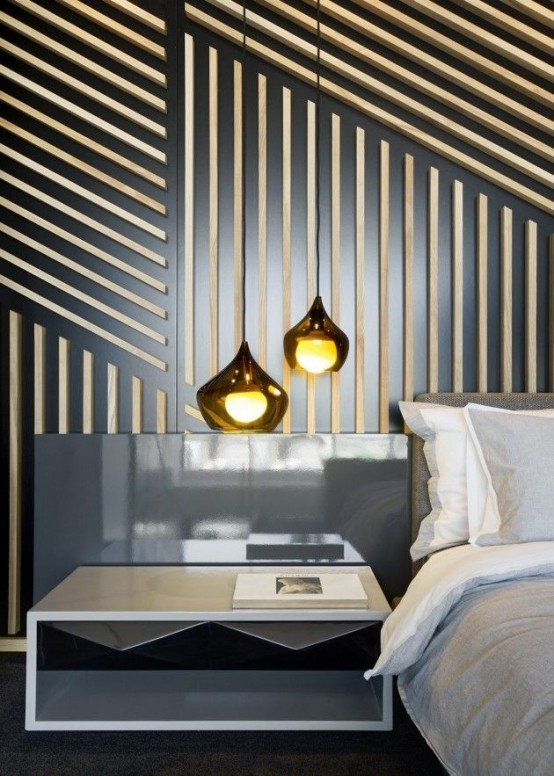 21 trendy and eye catching geometric bedroom d cor ideas digsdigs - Trendy bedroom decorating ideas ...