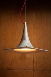 Trendy And Eye Catching Geometric Inconcrete Lamp