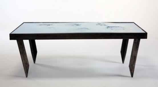 Trendy Bulletproof Table