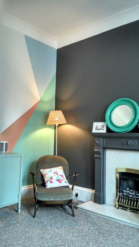 Trendy Color Block Home Decor Ideas