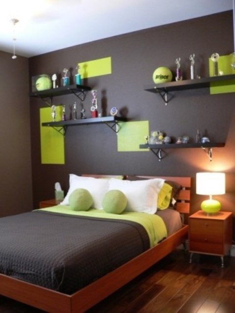 Trendy Color Block Home Decor Ideas