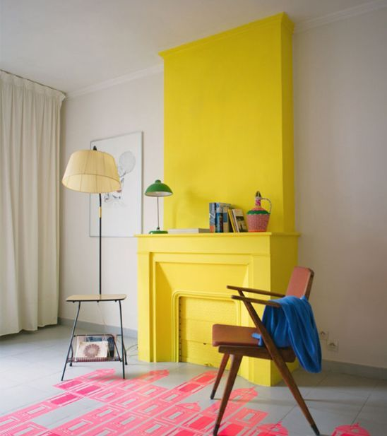 Trendy Home Decorating Ideas: 38 Trendy Ways To Color Block Your Home