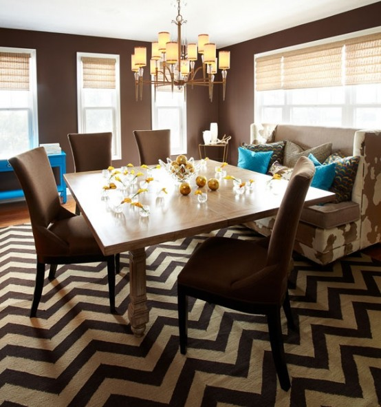 Trendy Home Decorating Ideas: Trendy Geometry: 29 Chevron Décor Ideas For Your Home