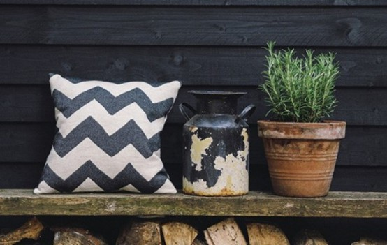 Trendy Geometry: 29 Chevron Décor Ideas For Your Home