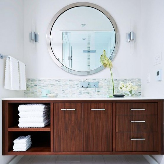 Great Trendy Mid Century Modern Bathrooms To Get Inspired Great Ideas