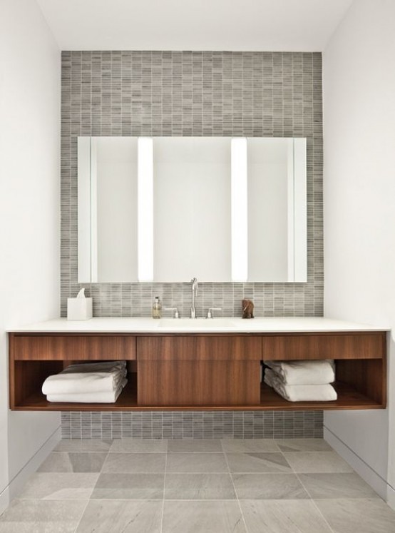 Attrayant Trendy Mid Century Modern Bathrooms To Get Inspired