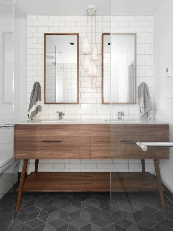 35 trendy mid century modern bathrooms to get inspired 23761