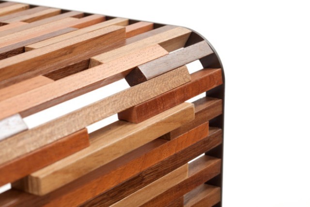 Triplice Tables Made From Scraps Of Wood