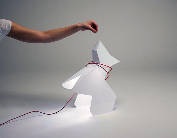 Trololo Dog Lamp Stay Still Beg Glow