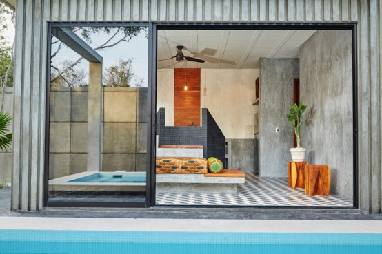 Tropical Casa T With Bold Earth Wind And Air Parts
