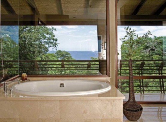Tropical House For Vacation In Costa Rica Jungle