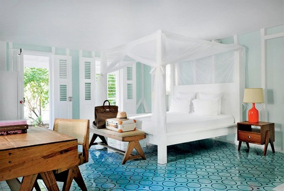 Tropican Hotel Style Bedroom