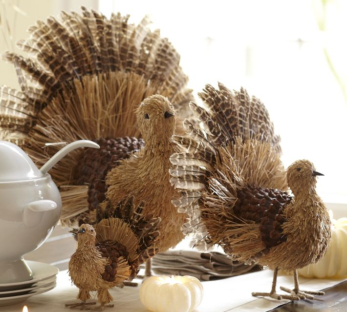 Still Waters--Notes from a Virginia Shire: Turkey Decorations