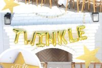 twinkle, little star, gender neutral baby shower