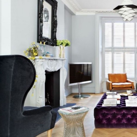 Decordemon Industrial Style Flat In A Victorian Terrace: Typical British Interior With A Balanced Mix Of Styles
