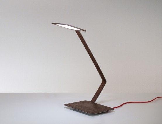 Ultra Minimalist Table Lamp With An Ethereal Structure