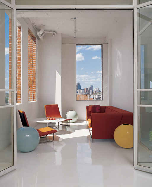 Ultra Minimalist White Interior