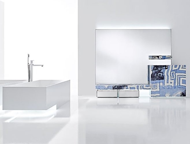 Ultra modern and chic bathrooms digsdigs for Ultra modern bathroom