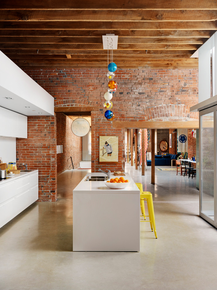 White Kitchen Models 59 cool industrial kitchen designs that inspire - digsdigs