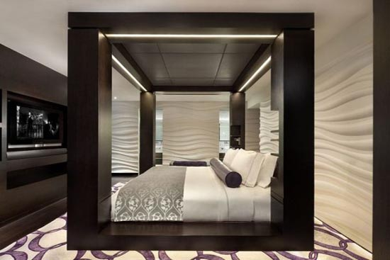 33 cool hotel style bedroom design ideas digsdigs for Decoracion de recamaras principales