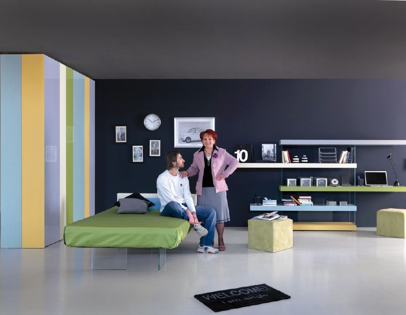 Ultra modern kids bedroom designs by lago digsdigs - Ultra contemporary bedroom furniture ...