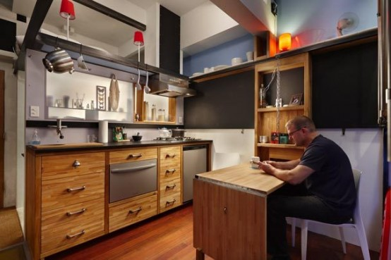 Ultra Tiny Apartment Design