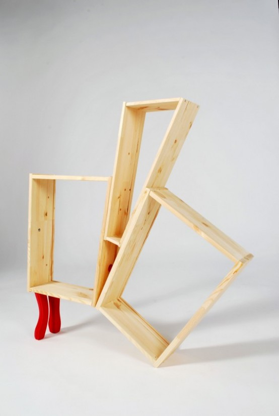 Uncommon IKEA Bookcases Made Of Standard IKEA Flat-Pack Furniture – UNIKEA by Kenyon Yeh