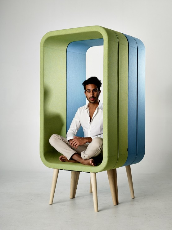 Unconventional Chair Design: Frame By Ola Giertz
