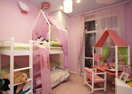 Unique And Creative Children Room