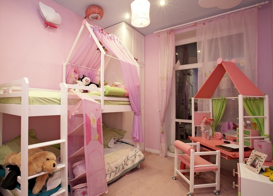 Creative Kids Room Ideas for Girls 557 x 400
