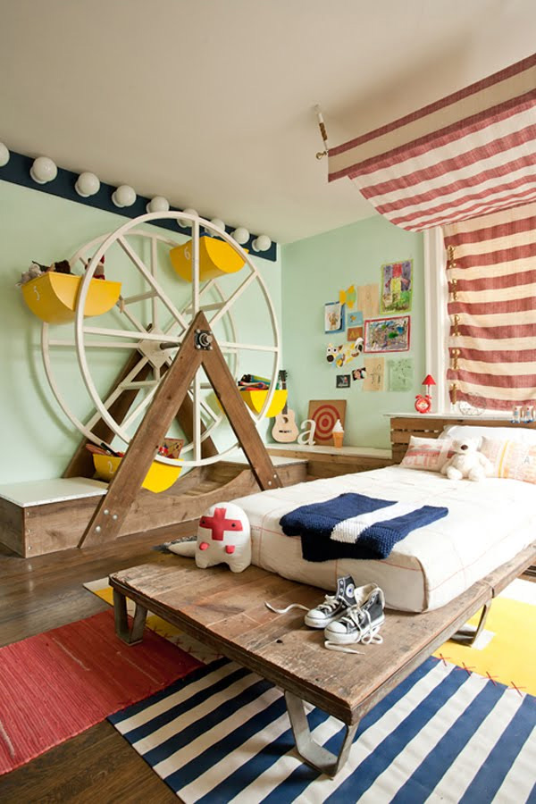 10 Unique and Creative Children Room Designs | DigsDigs