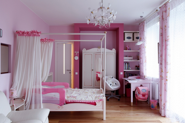 10 unique and creative children room designs digsdigs for Room design ideas pink