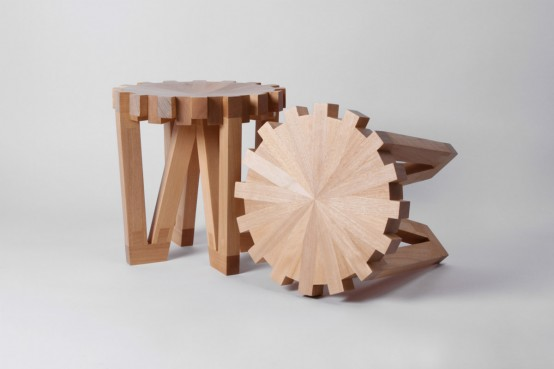 Unique Calibre 32 Stools Inspired By Hyrology