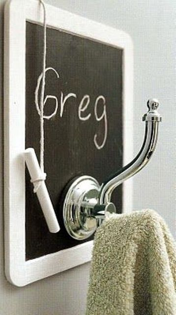 Unique Chalkboard Bathroom Decor Ideas